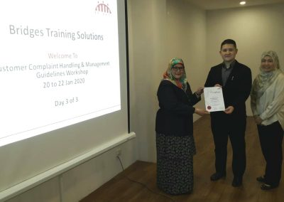 Customer Complaint Handling and Management Guidelines Workshop - Jan 2020 06