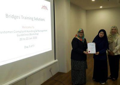 Customer Complaint Handling and Management Guidelines Workshop - Jan 2020 07