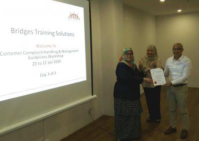 Customer Complaint Handling and Management Guidelines Workshop - Jan 2020 08