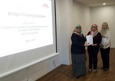 Customer Complaint Handling and Management Guidelines Workshop - Jan 2020 09